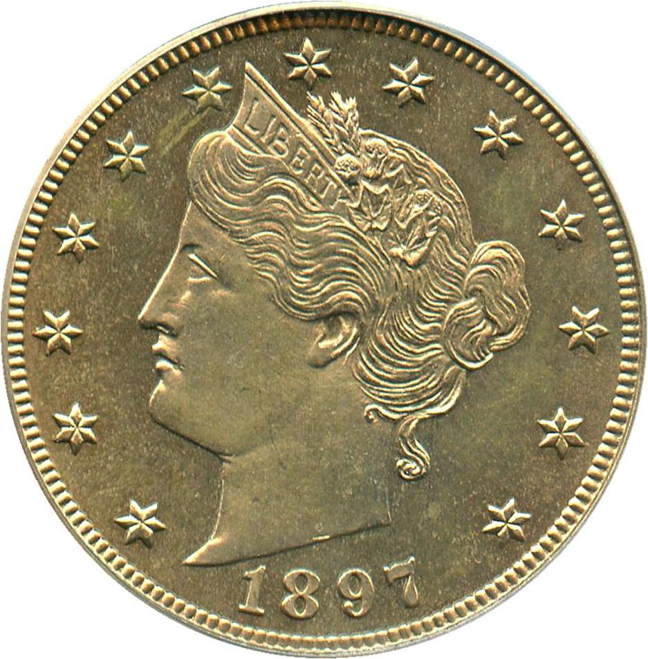 sample image for 1897 5c PR