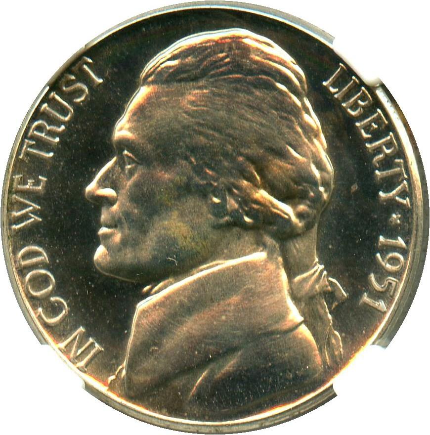 sample image for 1951 5c PR CAM
