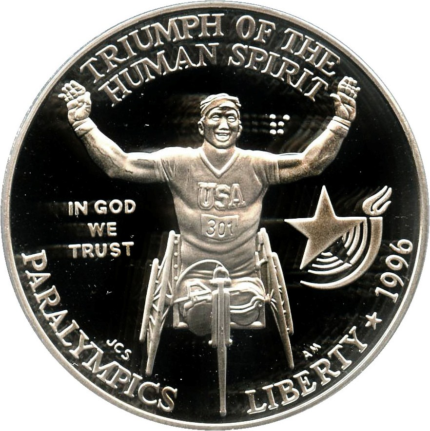sample image for 1996-P Paralympics Wheelchair $1  PR DCAM