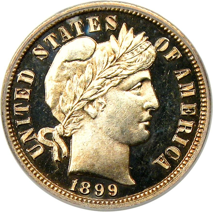 sample image for 1899 10c PR DCAM