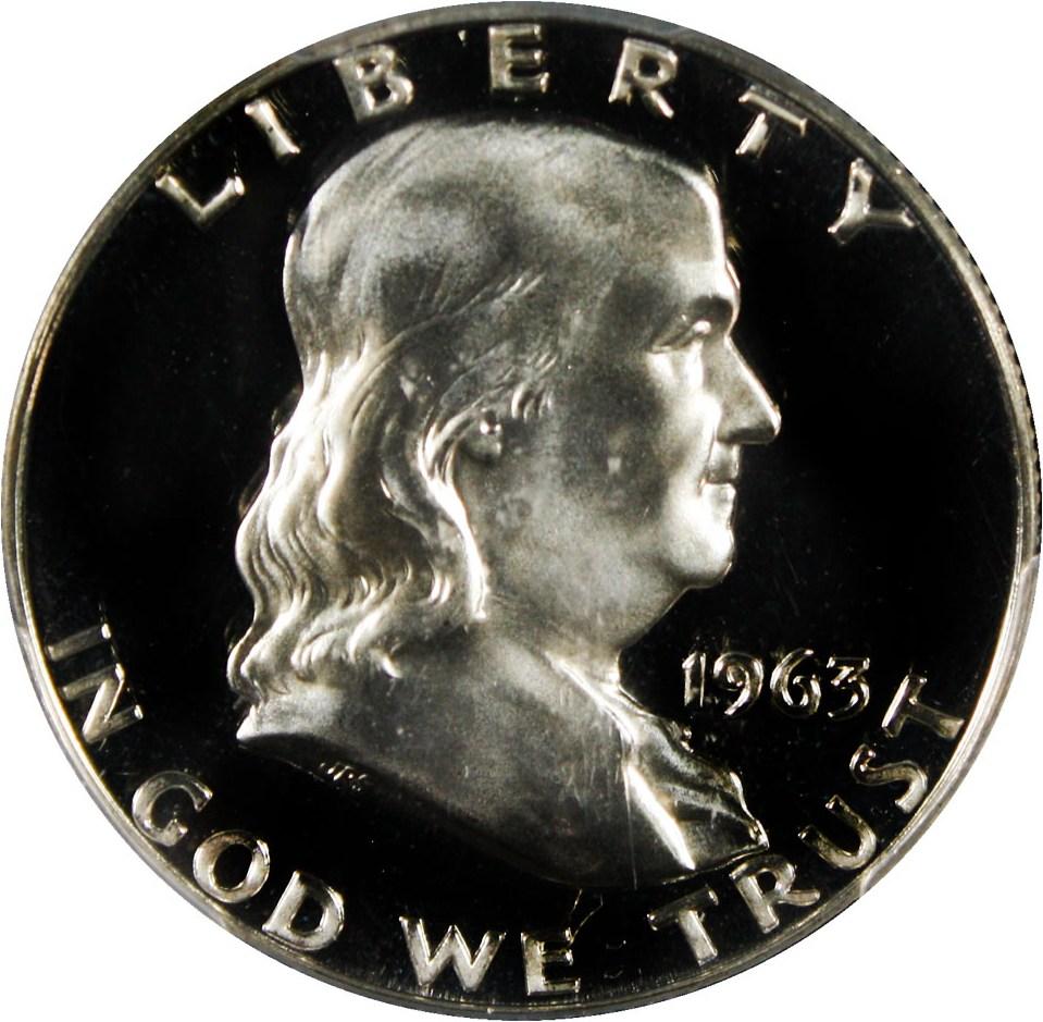 sample image for 1963 50c PR CAM