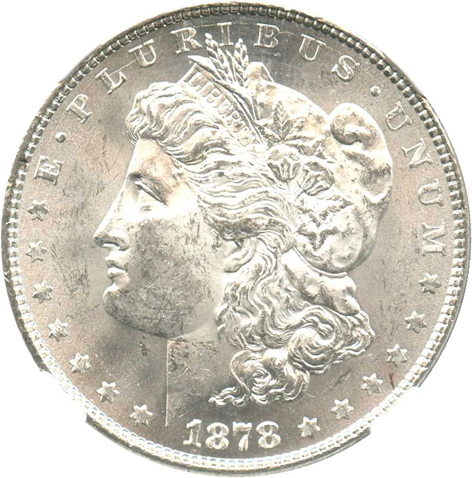 sample image for 1878 8TF $1  MS VAM-12, Notched Star