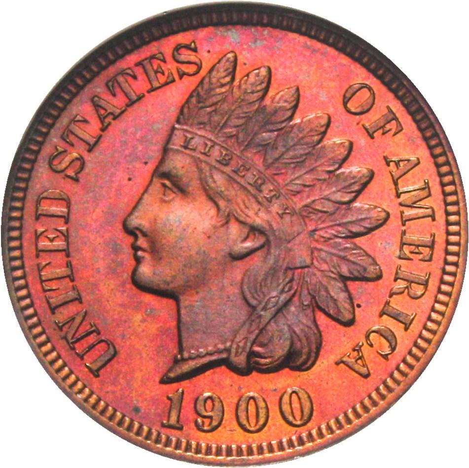 sample image for 1900 1c PR RB