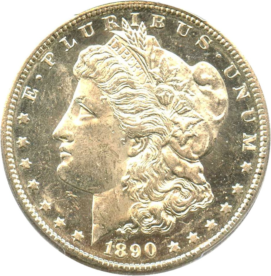 sample image for 1890-S $1  MS DMPL