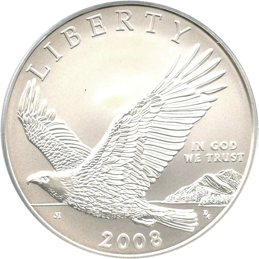 sample image for 2008-P Bald Eagle $1  MS