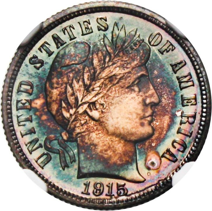 sample image for 1915 10c PR