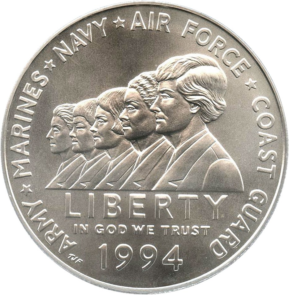 sample image for 1994-W Women in the Military $1  MS