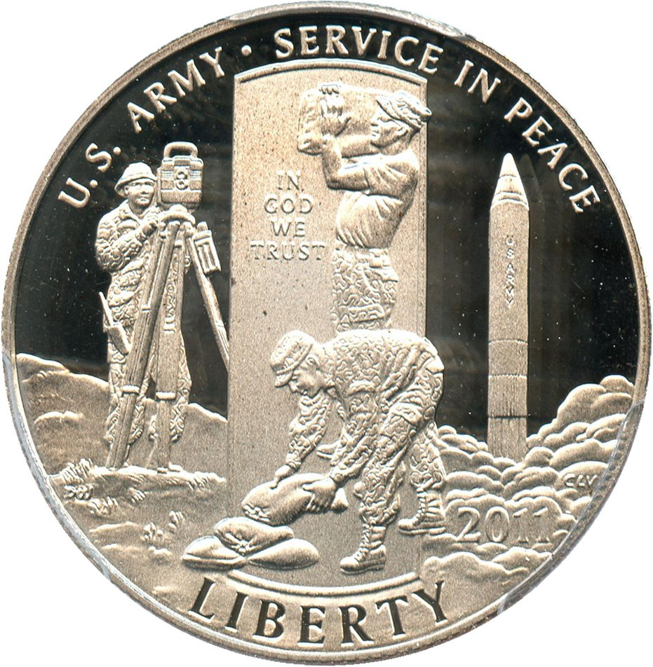 sample image for 2011-S United States Army 50c PR DCAM