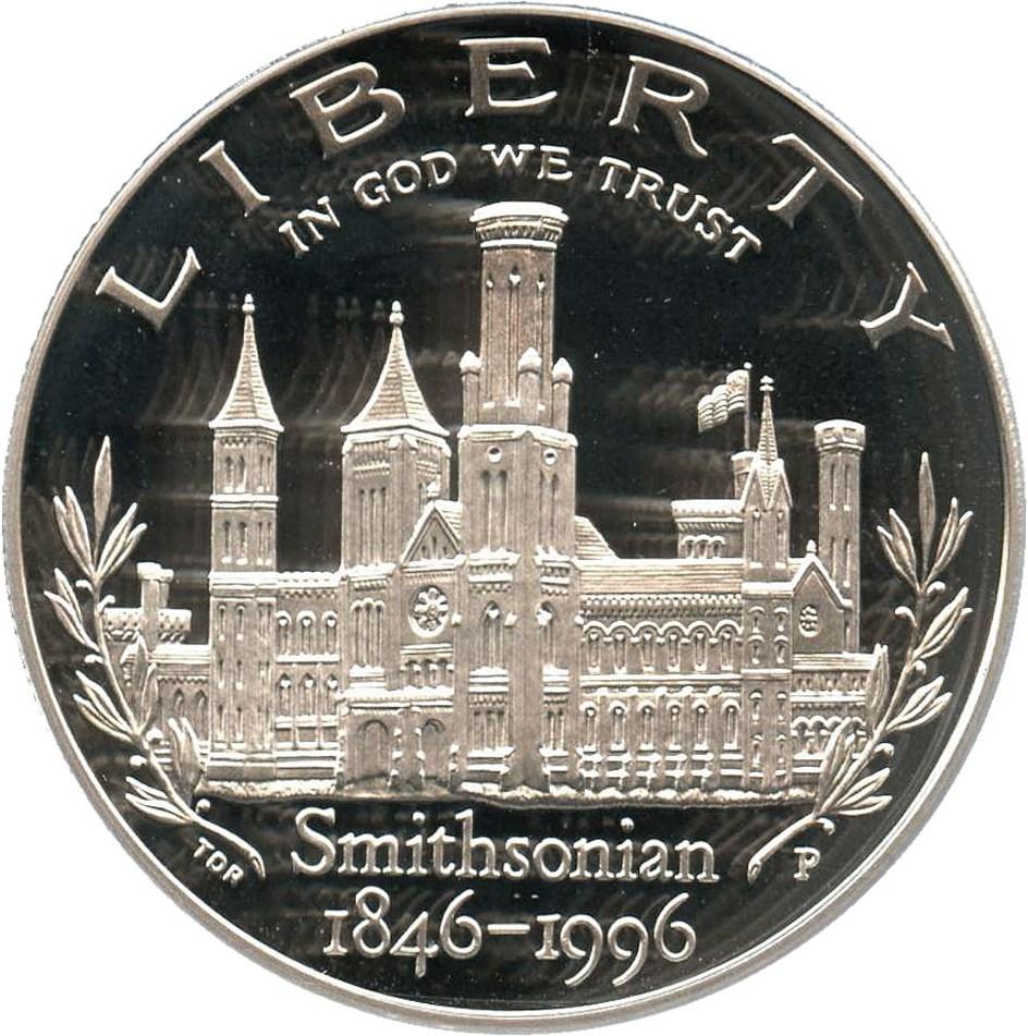 sample image for 1996-P Smithsonian $1  PR DCAM