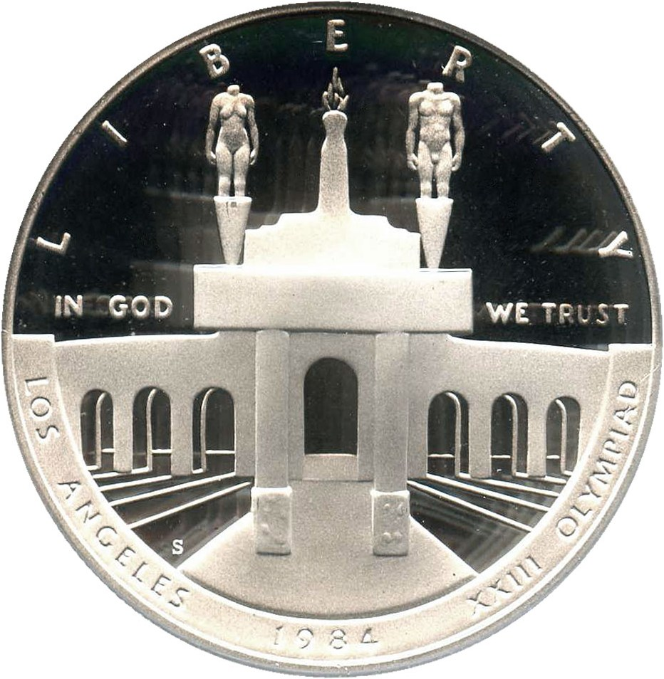 sample image for 1984-S Olympic $1  PR DCAM