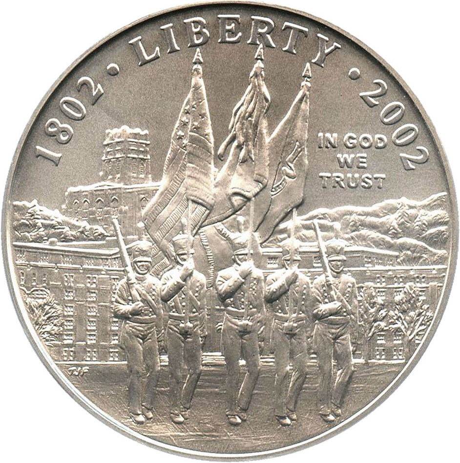 sample image for 2002-W West Point Bicentennial $1  MS