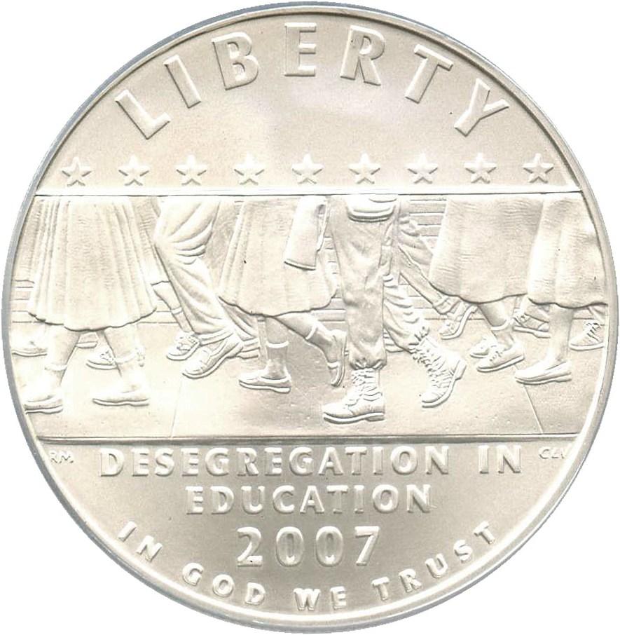 sample image for 2007-P Desegregation-Little Rock $1  MS