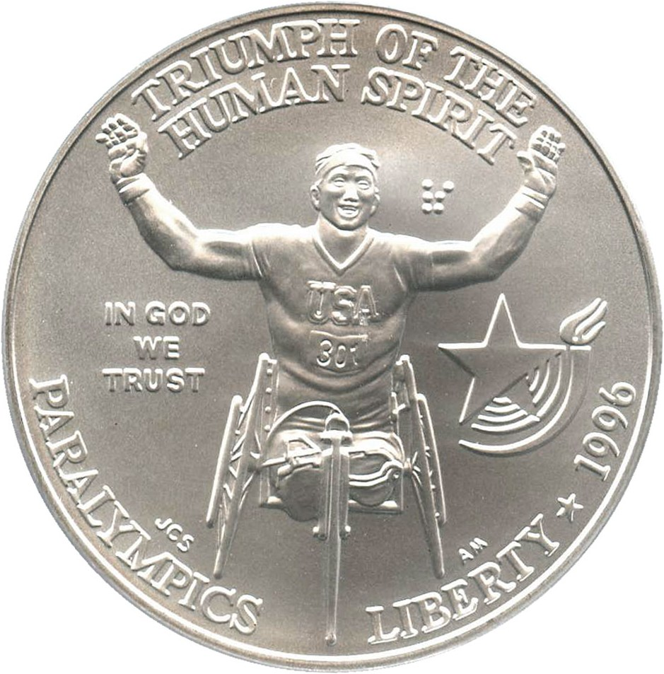 sample image for 1996-D Paralympics Wheelchair $1  MS