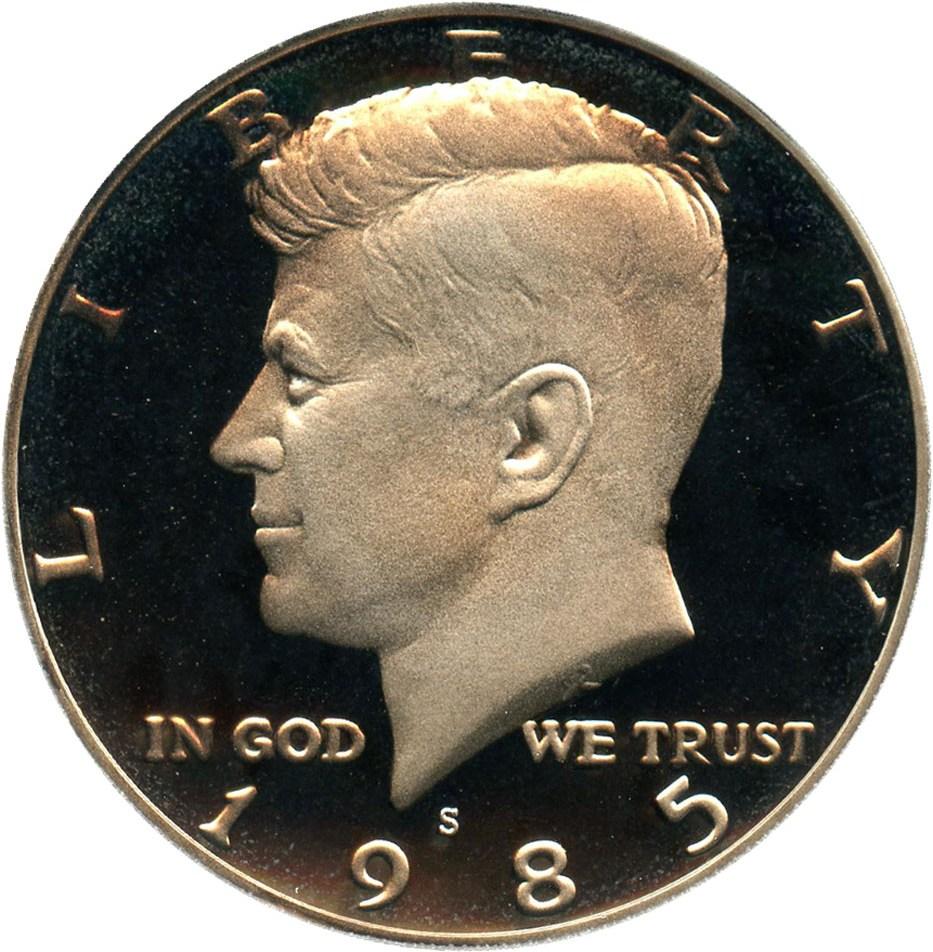 sample image for 1985-S 50c PR DCAM