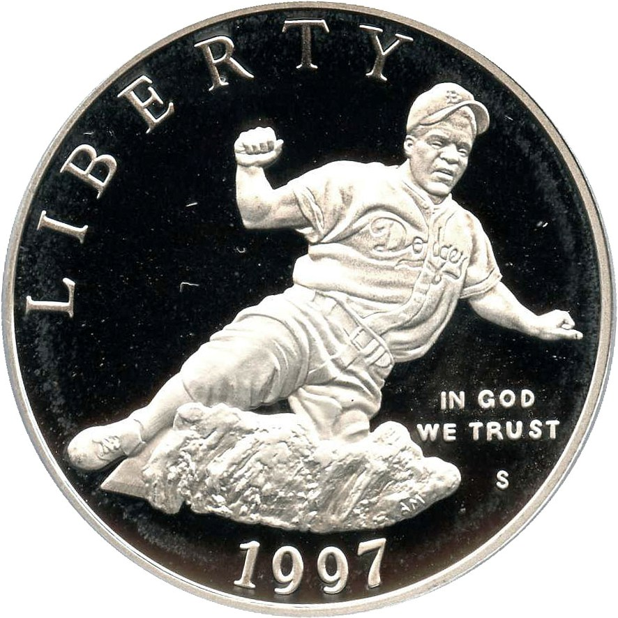 sample image for 1997-S Jackie Robinson $1  PR DCAM