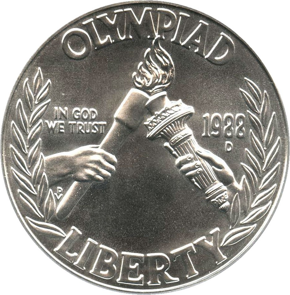 sample image for 1988-D Olympic $1  MS