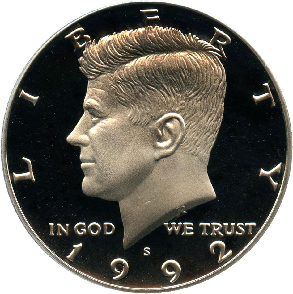 SKU#6113 1995-S Kennedy Half Dollar Gem Proof