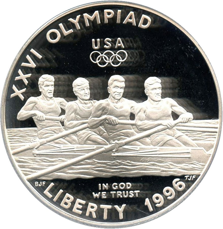 sample image for 1996-P Olympic Rowing $1  PR DCAM
