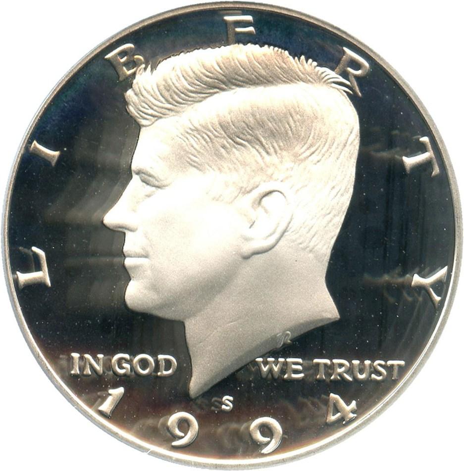 sample image for 1994-S 50c PR DCAM Silver