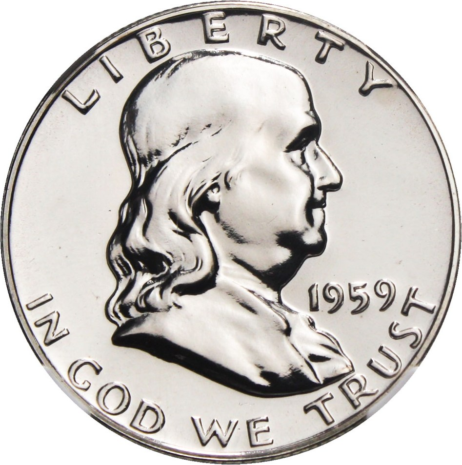 sample image for 1959 50c PR
