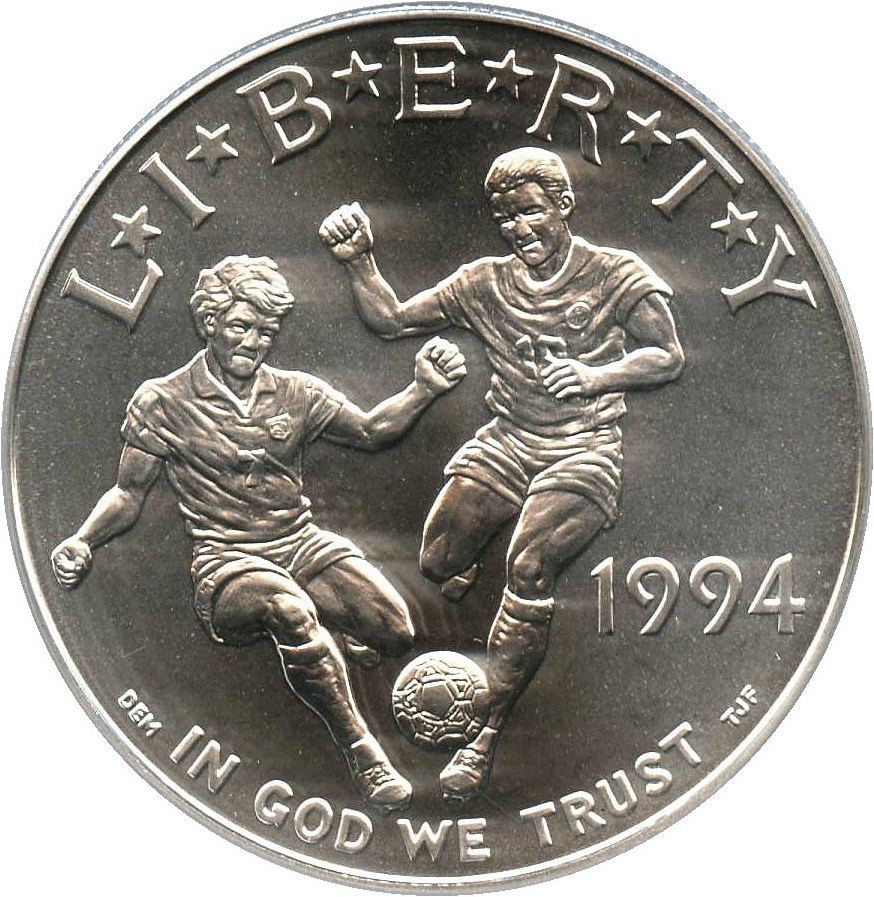 sample image for 1994-D World Cup $1  MS