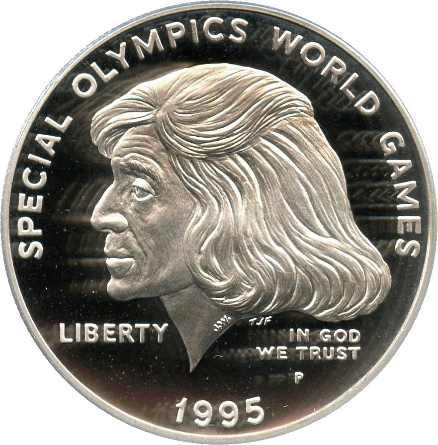 sample image for 1995-P Special Olympic $1  PR DCAM