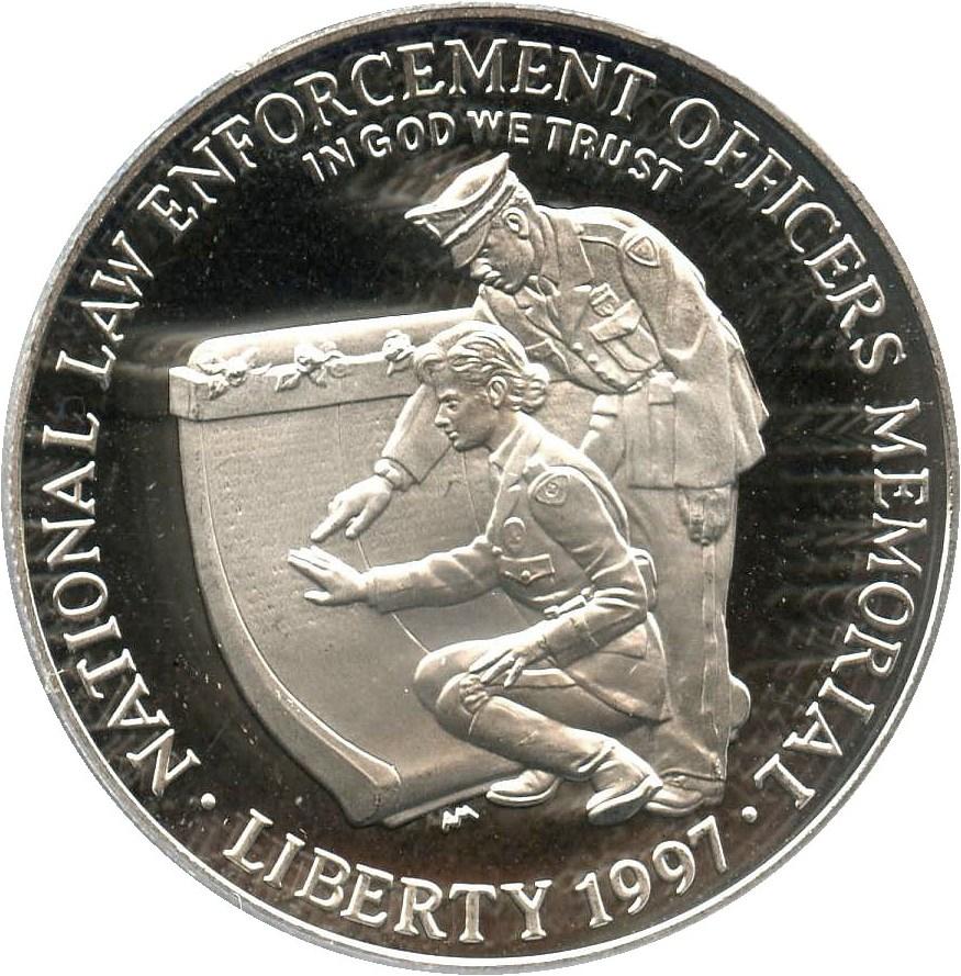 sample image for 1997-P Law Enforcement $1  PR DCAM