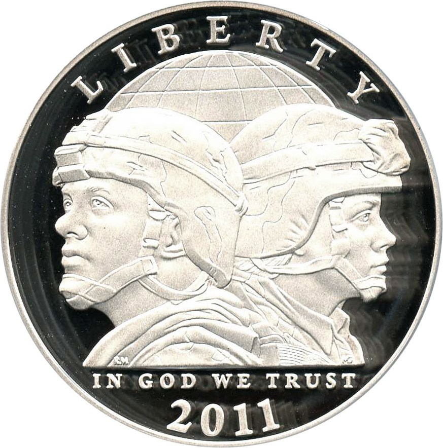 sample image for 2011-P United States Army $1  PR DCAM
