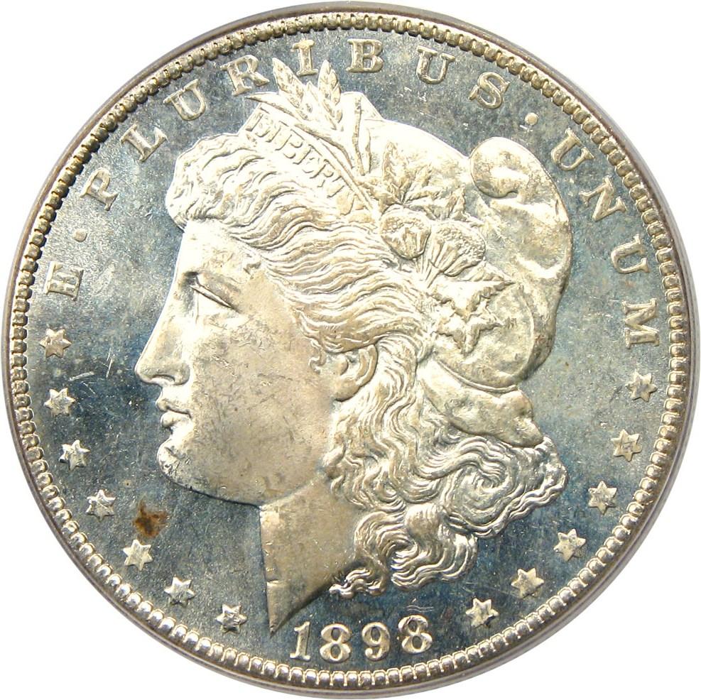 sample image for 1898-O $1  MS DMPL
