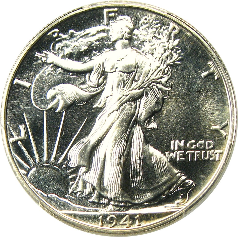 sample image for 1941 50c PR