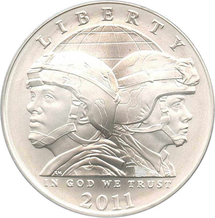 sample image for 2011-S United States Army $1  MS