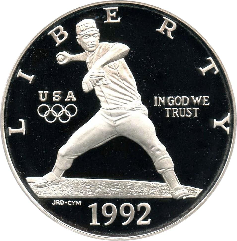 sample image for 1992-S Olympic Baseball $1  PR DCAM
