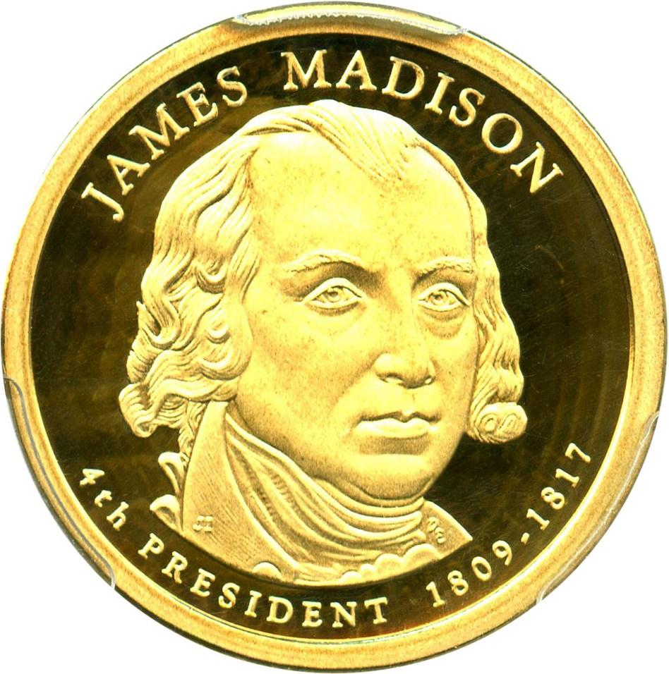 sample image for 2007-S James Madison $1  PR DCAM