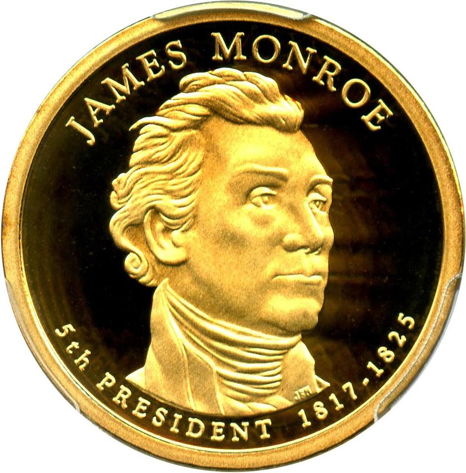 sample image for 2008-S James Monroe $1  PR DCAM