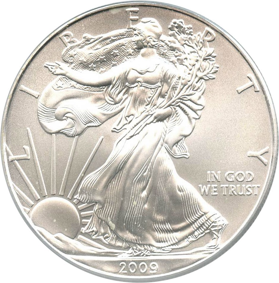 sample image for 2009 Silver Eagle $1  MS