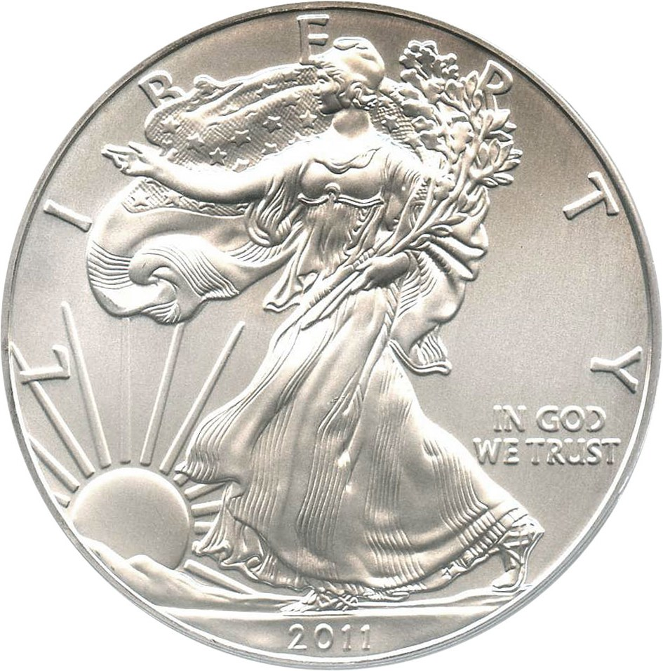 sample image for 2011-(W) Silver Eagle $1  MS 25th Anniversary