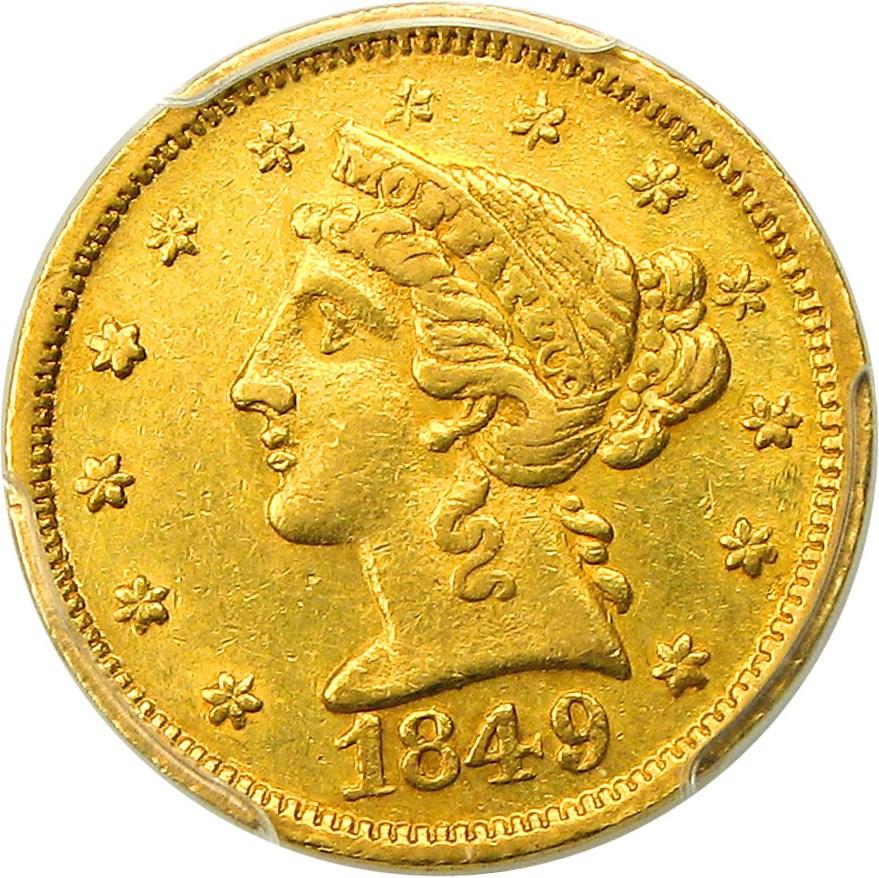 sample image for 1849 $5 Moffat