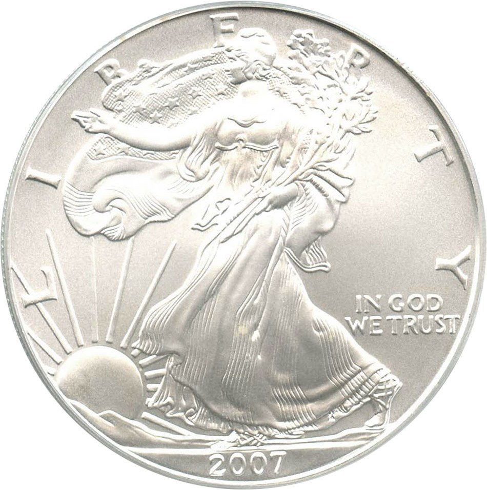 sample image for 2007 Silver Eagle $1  MS
