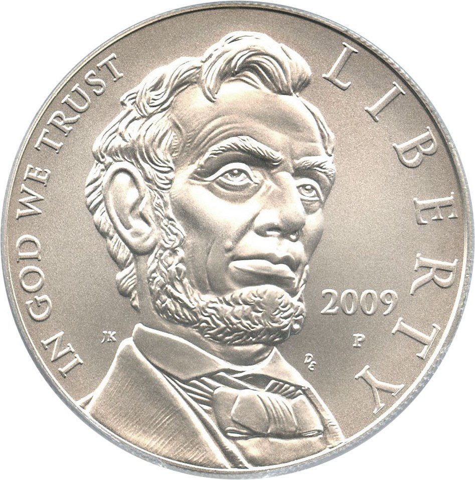 sample image for 2009-P Abraham Lincoln $1  MS