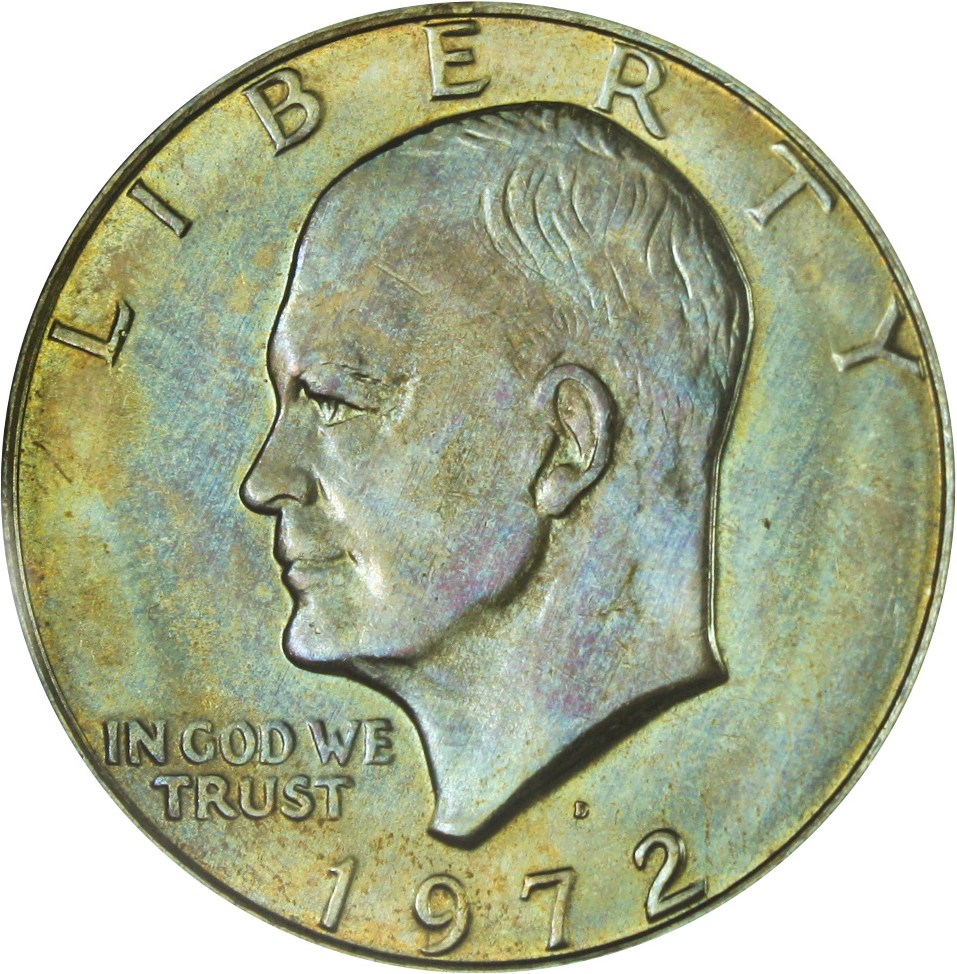 sample image for 1972-D $1  MS