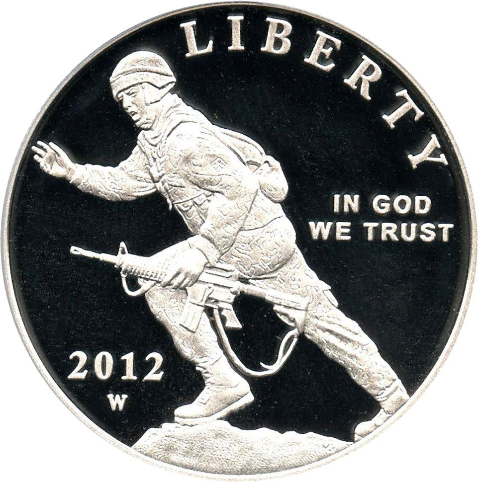 sample image for 2012-W Infantry $1  PR DCAM