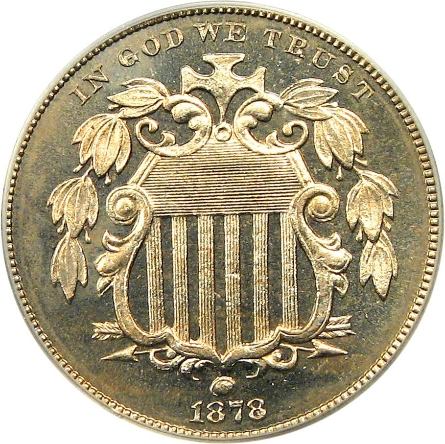 sample image for 1878 5c PR CAM