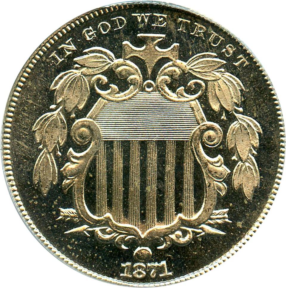 sample image for 1871 5c PR CAM