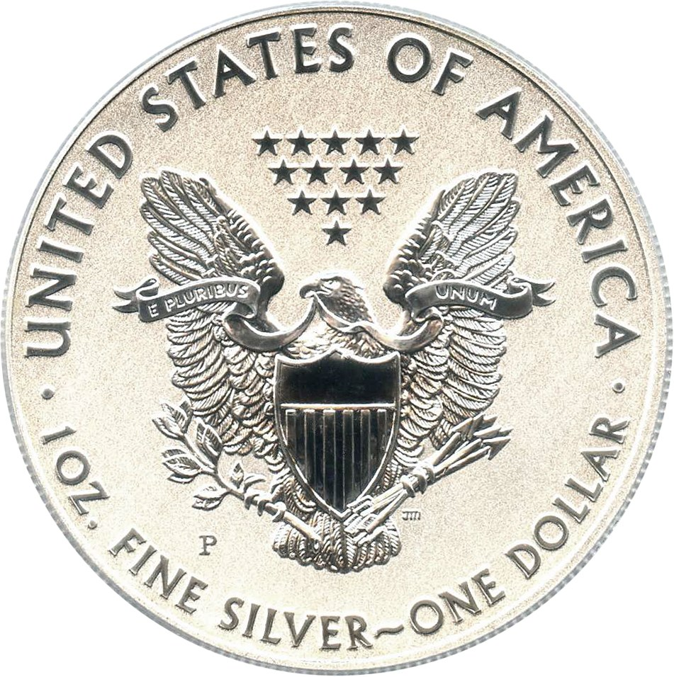 sample image for 2011-P Silver Eagle $1  PR Reverse Proof
