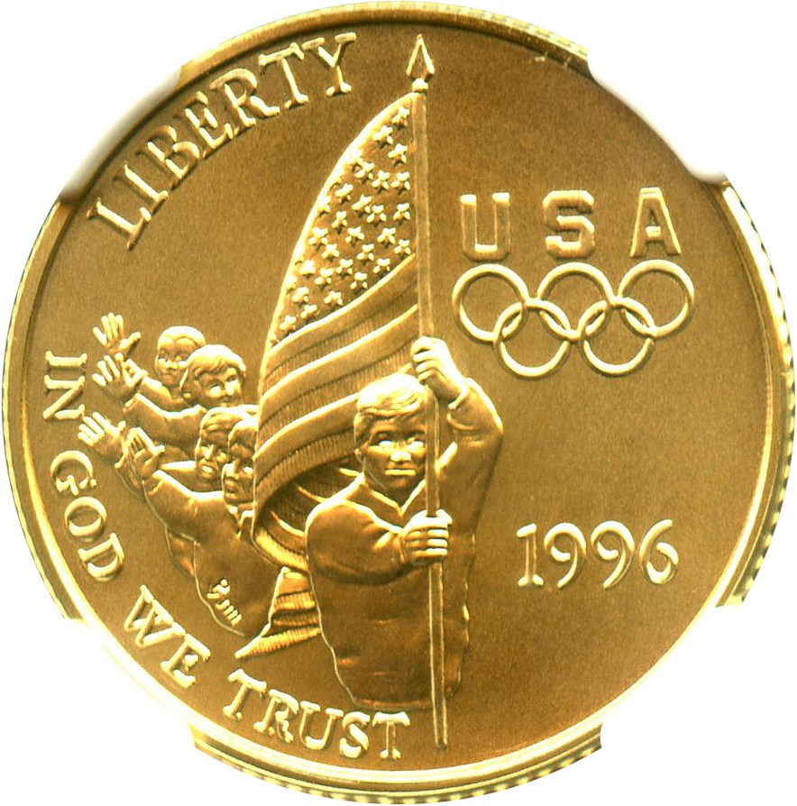 sample image for 1996-W Flag $5  MS