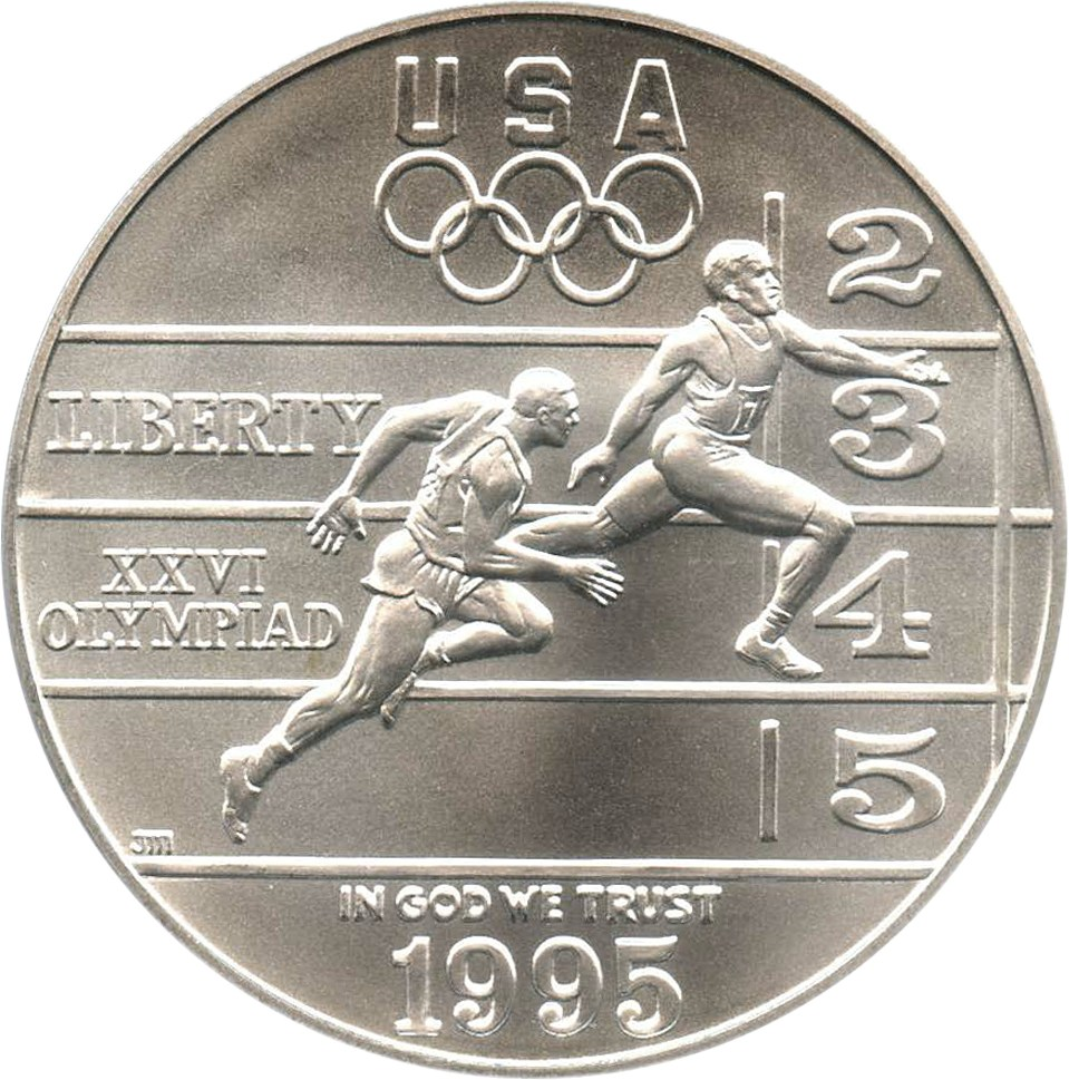 sample image for 1995-D Olympic Track & Field $1  MS