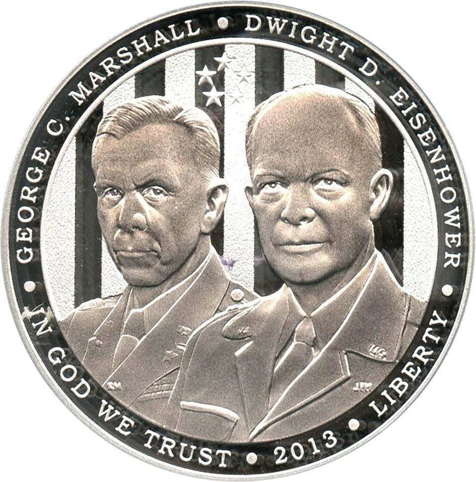 sample image for 2013-P 5 Star Generals $1  PR DCAM