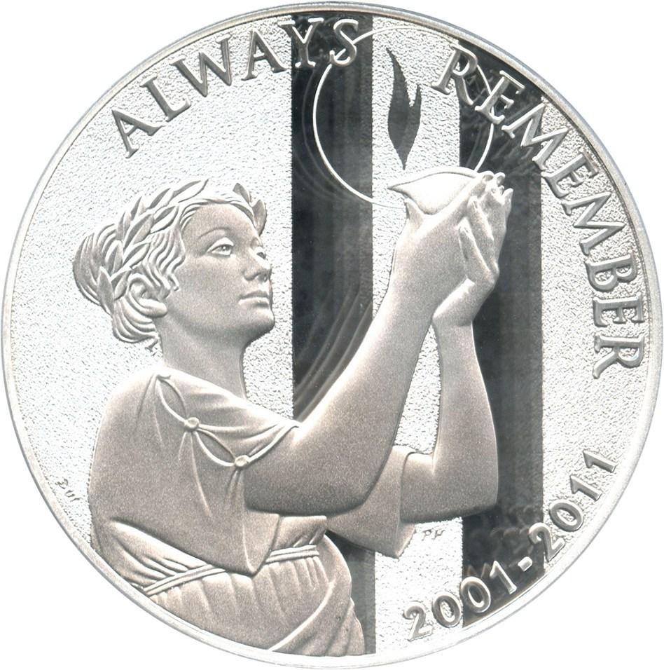 sample image for 2011-W 9-11 National Medal $1  PR DCAM