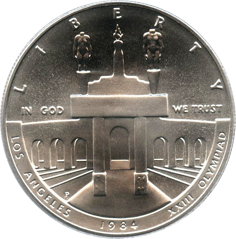 sample image for 1984-P Olympic $1  MS