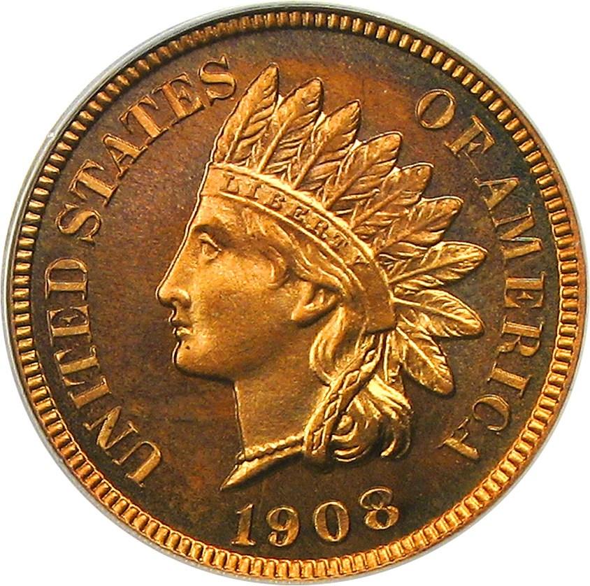 sample image for 1908 1c PR RD